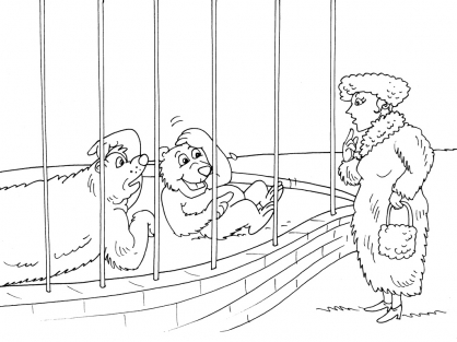 Coloriage Zoo 30