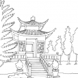 Coloriage Chine 1