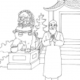 Coloriage Chine 11