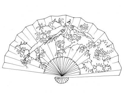Coloriage Chine 12