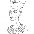 Coloriage Egypte 12