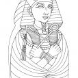Coloriage Egypte 13