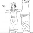 Coloriage Egypte 3