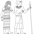 Coloriage Egypte 4