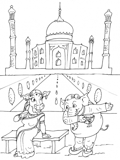Coloriage inde 18 coloriage inde coloriage cartes et geographie - Coloriage inde ...