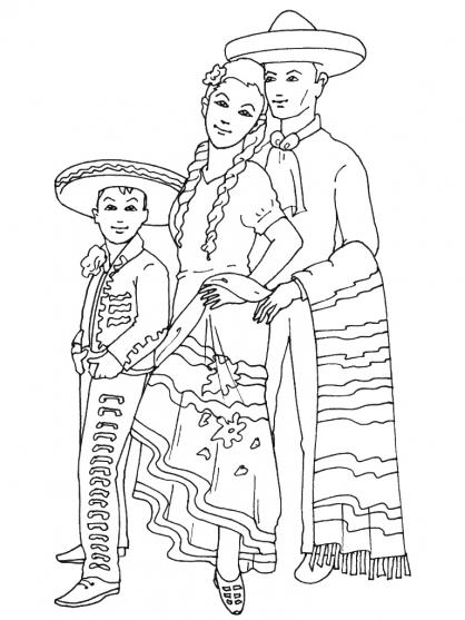 Coloriage Mexique 11