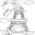 Coloriage Région de France 17