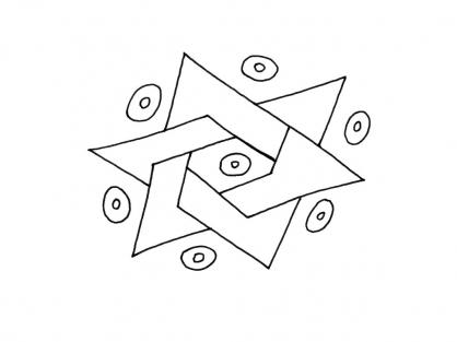 Coloriage Graphisme 2
