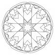 Coloriage Mandala 15