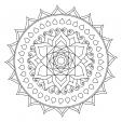Coloriage Mandala 22