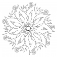 Coloriage Mandala 23