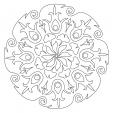 Coloriage Mandala 29
