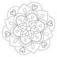 Coloriage Mandala 30