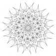 Coloriage Mandala 32