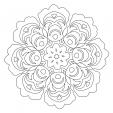 Coloriage Mandala 33
