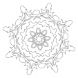 Coloriage Mandala 34