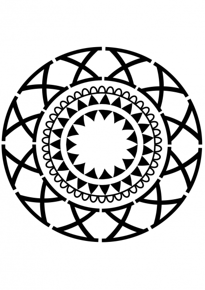 Coloriage mandala fleur 7 coloriage mandalas coloriage chiffres et formes - Coloriage fleur mandala ...