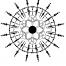 Coloriage Mandala fleur 9