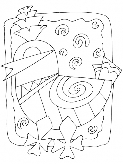 Coloriage Motif 30