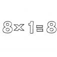Coloriage Multiplication 11