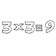 Coloriage Multiplication 12