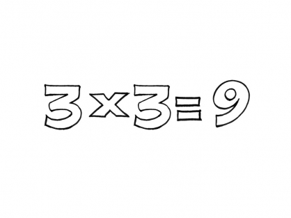 Coloriage Multiplication 12