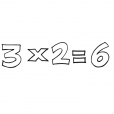 Coloriage Multiplication 14