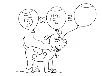 Coloriage Multiplication 16