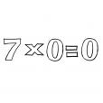 Coloriage Multiplication 5