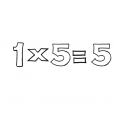 Coloriage Multiplication 8