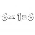 Coloriage Multiplication 9