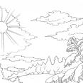 Coloriage Ciel 8