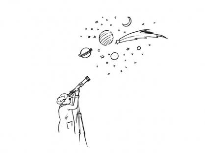 Coloriage Comète 11