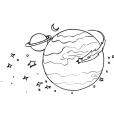 Coloriage Comète 2