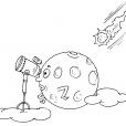 Coloriage Comète 25