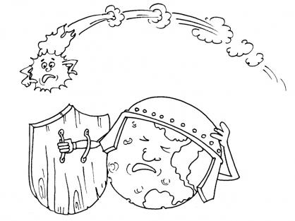 Coloriage Comète 26