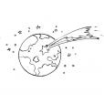 Coloriage Comète 9