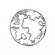 Coloriage Planète 1