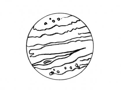 Coloriage Planète 5