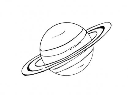 Coloriage Planète 6