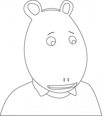 Coloriage Arthur 16