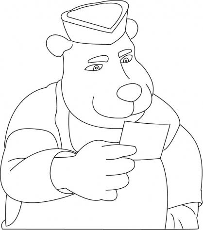 Coloriage Arthur 17