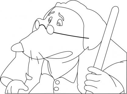 Coloriage Arthur 20