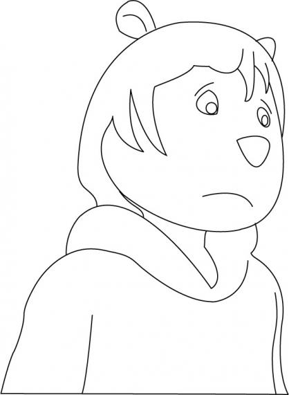Coloriage Arthur 23