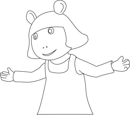 Coloriage Arthur 24