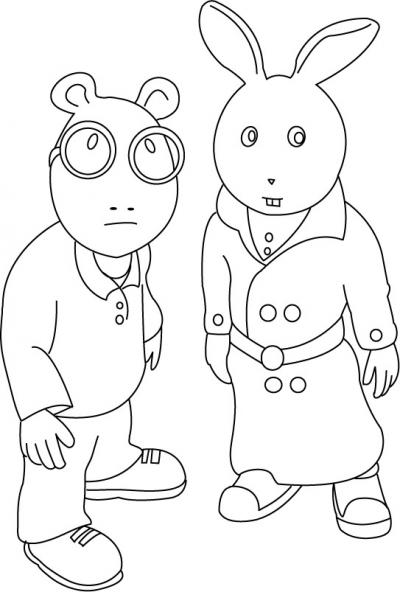 Coloriage Arthur 25