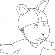 Coloriage Arthur 6