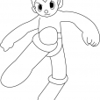 Coloriage Astro Boy 1