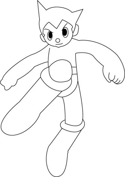 Coloriage Astro Boy 1