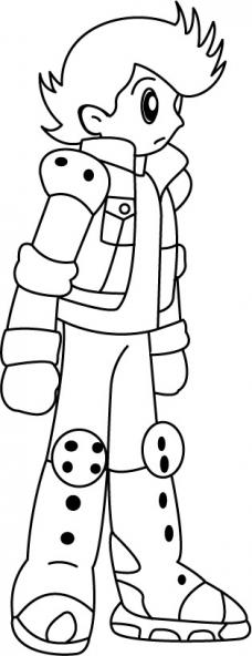 Coloriage Astro Boy 10